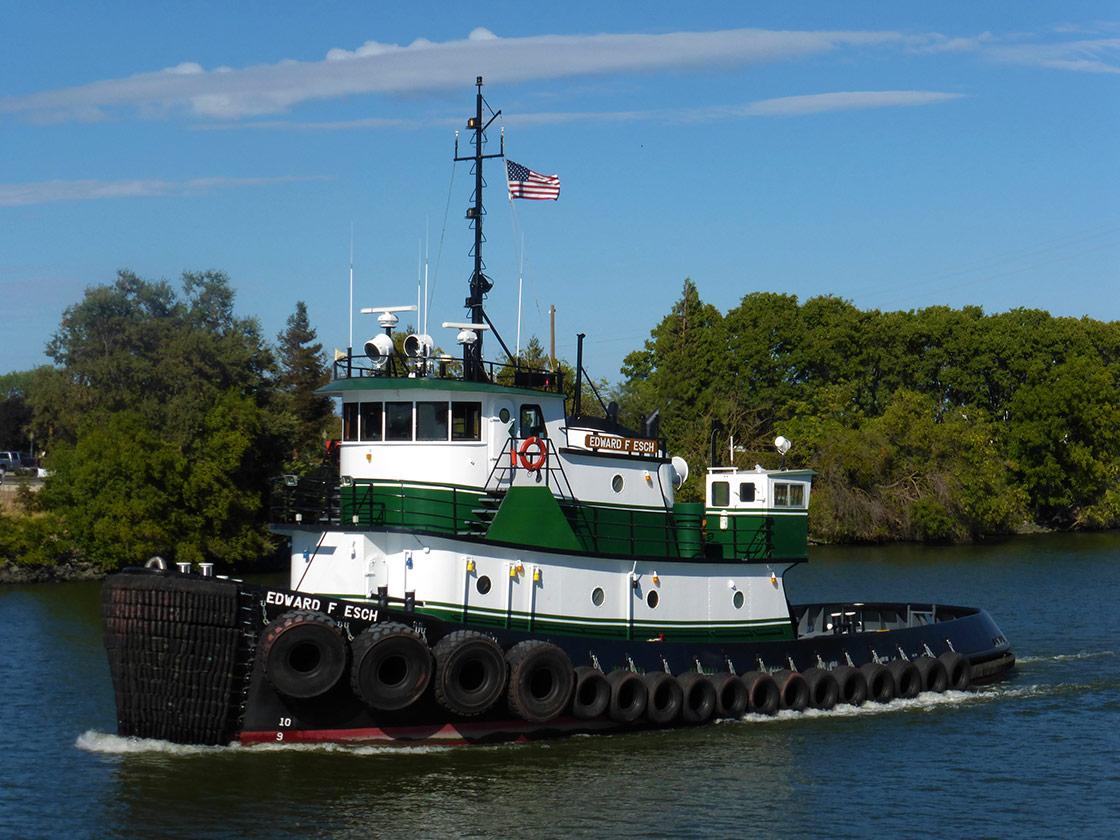 Tug Boat - Edward F. Esch