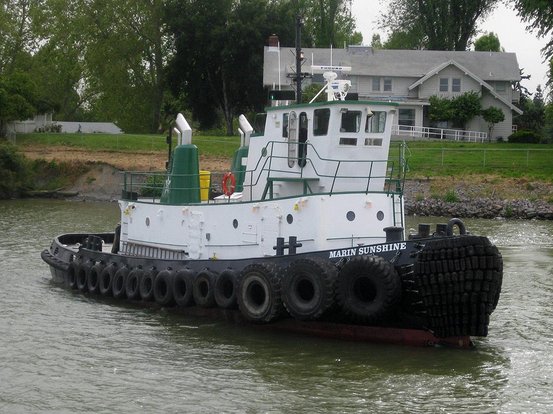Tug Boat - Marin Sunshine